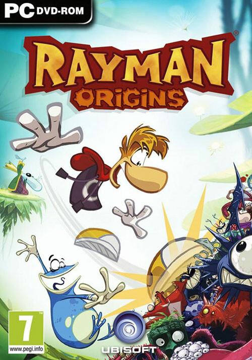Rayman Origins - Cover