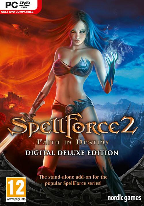 SpellForce 2: Faith in Destiny - Deluxe - Cover / Packshot