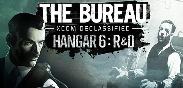 The Bureau XCOM Declassified: Hangar 6 - Cover / Packshot