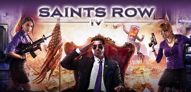 Saints Row IV - 100% Uncut - Cover / Packshot