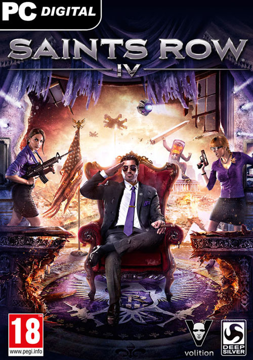 Saints Row IV - Cover