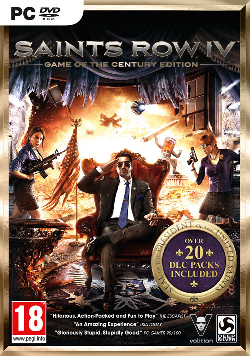 Saints Row IV Game of the Century Edition - Cover