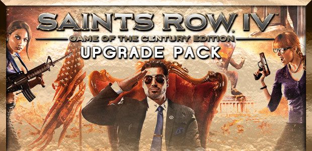Saints Row IV: Game of the Century Upgrade Pack - Cover / Packshot