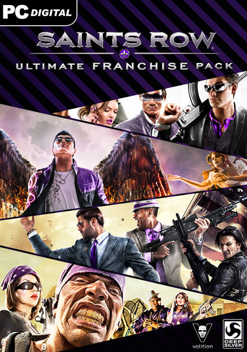 Saints Row Ultimate Franchise Pack - Cover