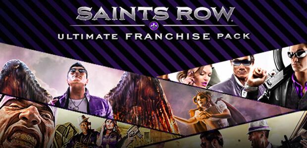 Saints Row Ultimate Franchise Pack - Cover / Packshot