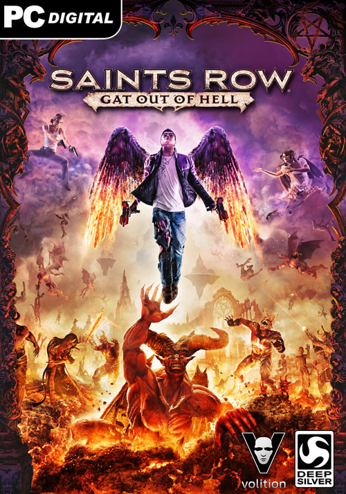 Saints Row: Gat Out of Hell - Cover / Packshot