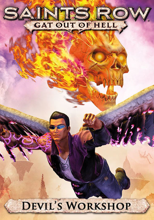 Saints Row: Gat Out of Hell - The Devil's Workshop DLC - Cover / Packshot