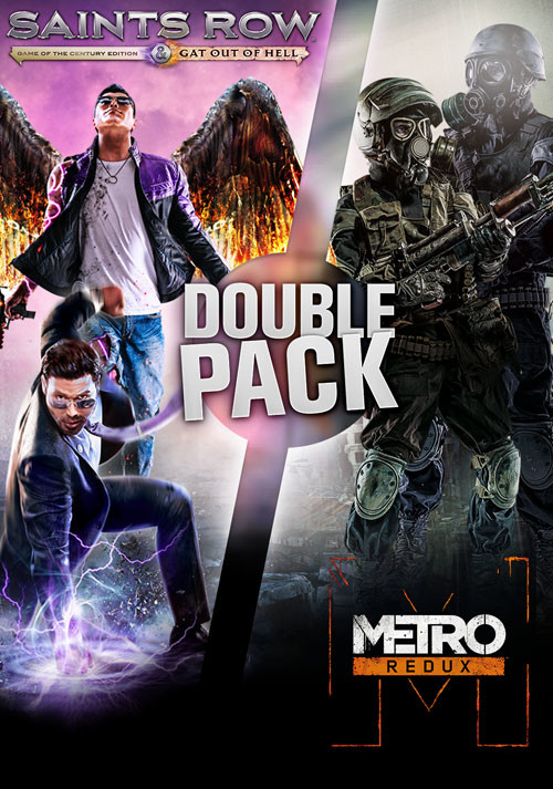 Saints Row Metro Double Pack - Cover / Packshot