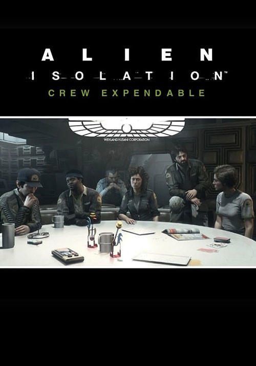 Alien: Isolation - Crew Expendable DLC - Cover / Packshot