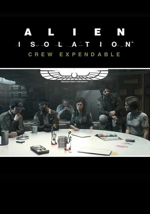 Alien: Isolation - Crew Expendable DLC - Cover / Packshot