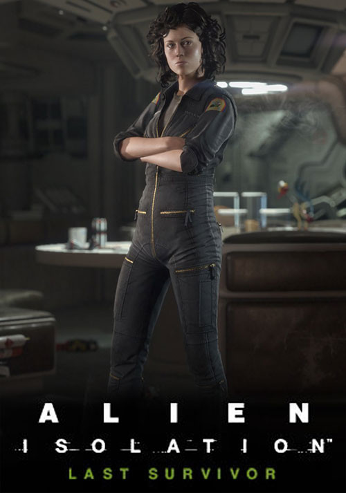 Alien: Isolation - Last Survivor DLC - Cover / Packshot