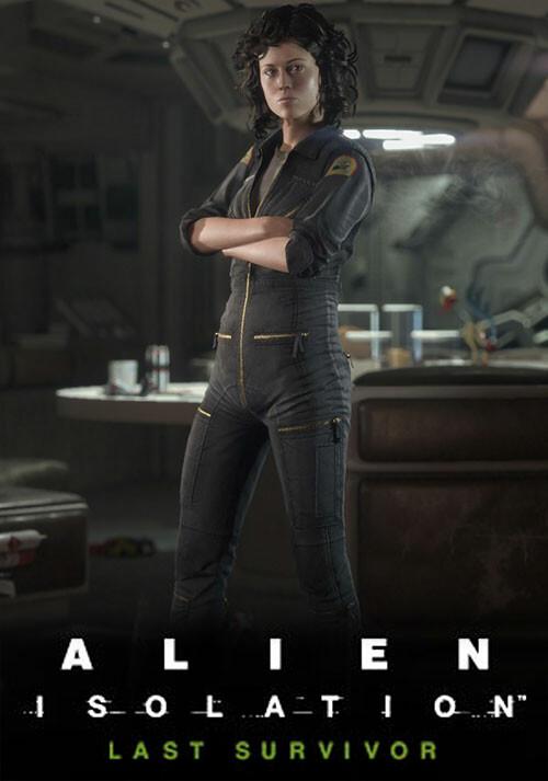 Alien: Isolation - Last Survivor DLC - Cover / Packshot