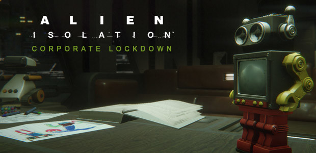 Alien: Isolation - Corporate Lockdown DLC - Cover / Packshot