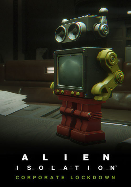 Alien: Isolation - Corporate Lockdown DLC - Cover / Packshot