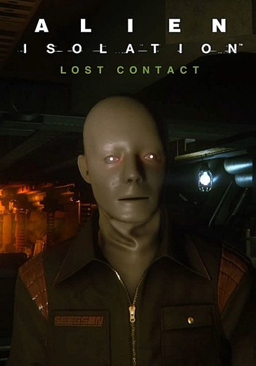 Alien: Isolation - Lost Contact DLC - Cover