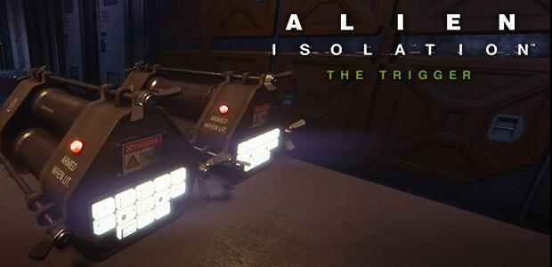 Alien: Isolation - The Trigger DLC - Cover / Packshot