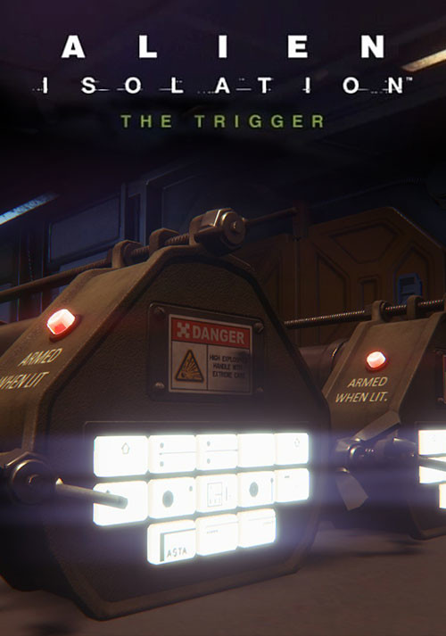 Alien: Isolation - The Trigger DLC - Packshot