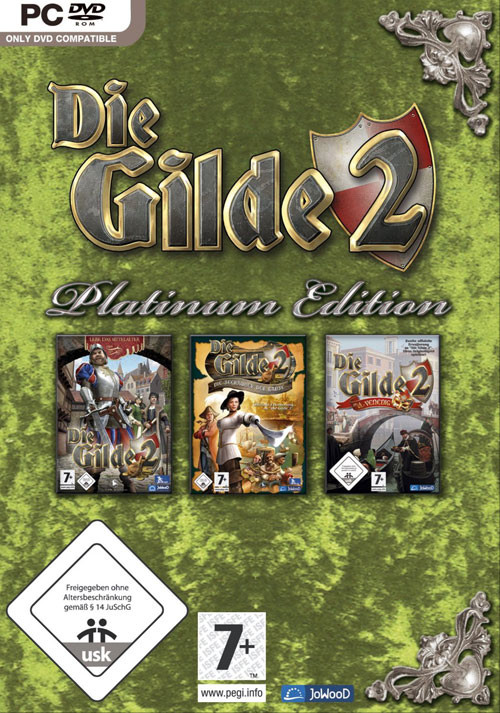 Die Gilde 2 - Platinum Edition - Cover / Packshot