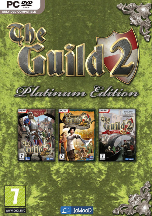 The Guild 2 Platinum Edition - Cover / Packshot