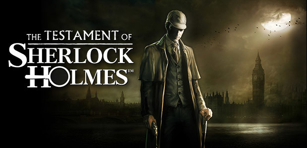 The Testament of Sherlock Holmes - Cover / Packshot