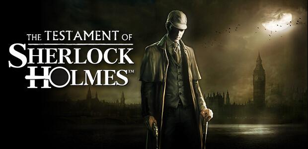 The Testament of Sherlock Holmes - Cover / Packshot