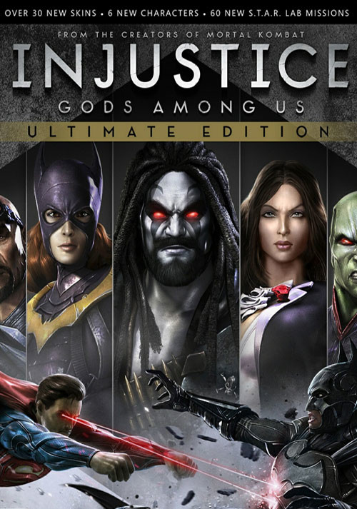 Injustice: Gods Among Us Ultimate Edition - Cover