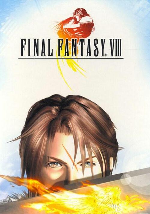 FINAL FANTASY VIII - Cover / Packshot