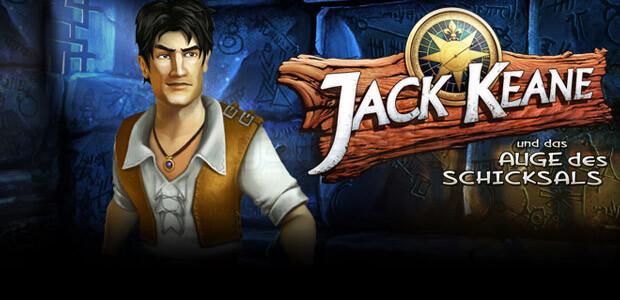Jack Keane und das Auge des Schicksals - Cover / Packshot