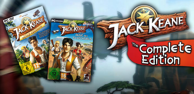 Jack Keane - The Complete Edition - Cover / Packshot
