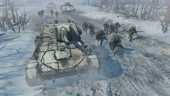 Screenshot1 - Company of Heroes 2: Theatre of War - Case Blue DLC