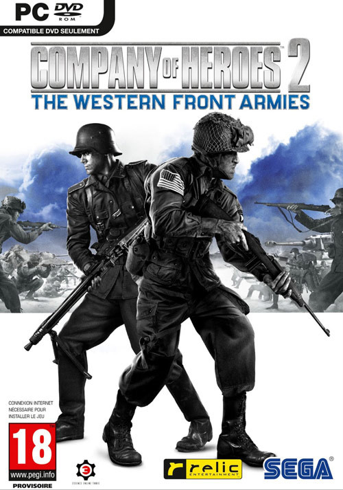 Company of Heroes 2: The Western Front Armies - Packshot