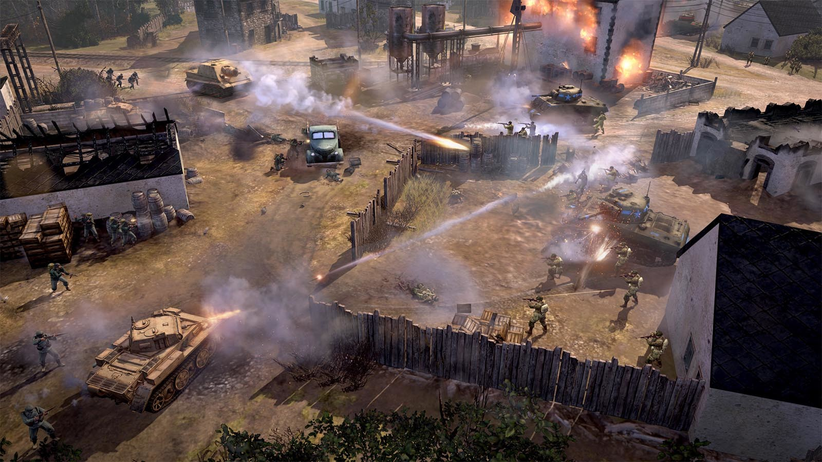 Men of War: Assault Squad 2 features new single player style skirmish modes.