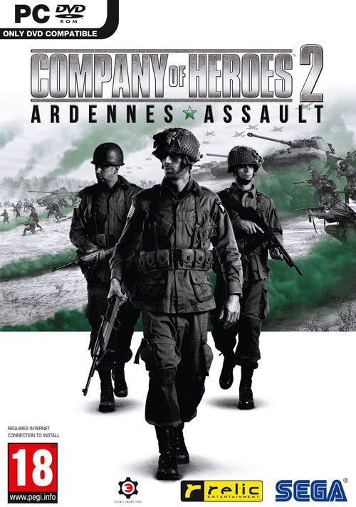 Company of Heroes 2: Ardennes Assault - Cover / Packshot