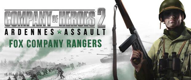 Company of Heroes 2: Ardennes Assault - Fox Company Rangers