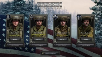 Screenshot1 - Company of Heroes 2: Ardennes Assault - Fox Company Rangers