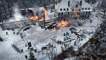 Screenshot4 - Company of Heroes 2: Ardennes Assault - Fox Company Rangers