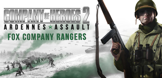 Company of Heroes 2: Ardennes Assault - Fox Company Rangers - Cover / Packshot