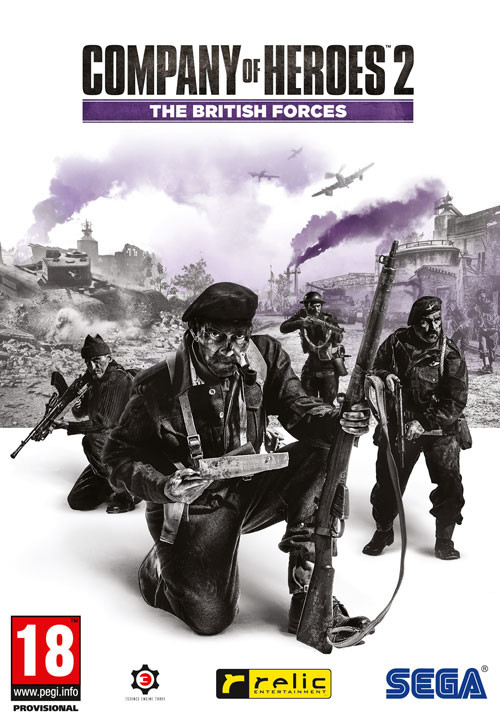 Company of Heroes 2: The British Forces - Packshot