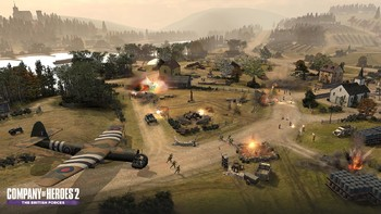 Screenshot1 - Company of Heroes 2: The British Forces