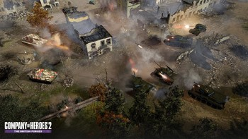 Screenshot5 - Company of Heroes 2: The British Forces