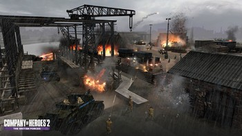 Screenshot9 - Company of Heroes 2: The British Forces