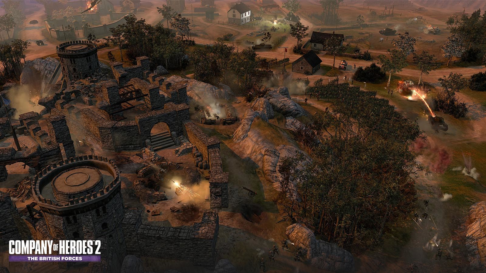 Company Of Heroes: Opposing Fronts No-CD Patches