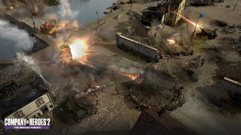 Screenshot10 - Company of Heroes 2: The British Forces