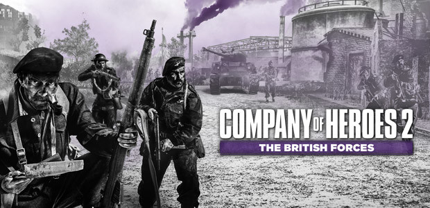 Company of Heroes 2: The British Forces - Cover / Packshot