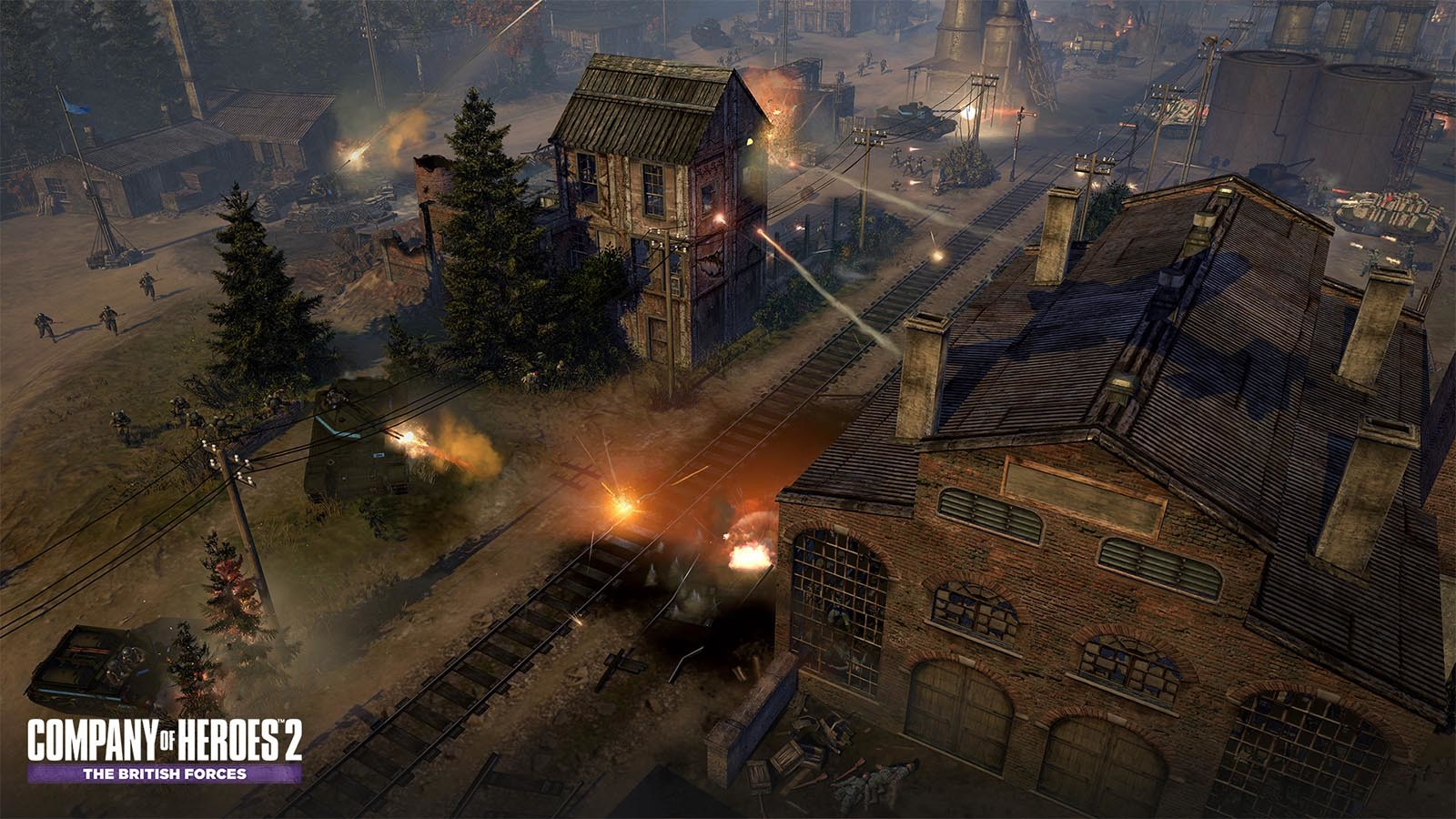 Company Of Heroes 2 The British Forces Steam Key For Pc Buy Now