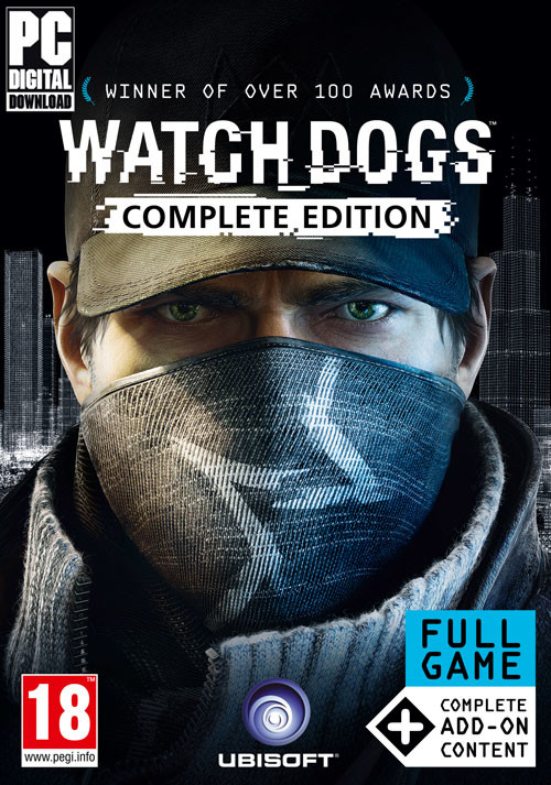 Watch_Dogs Complete Edition - Cover / Packshot