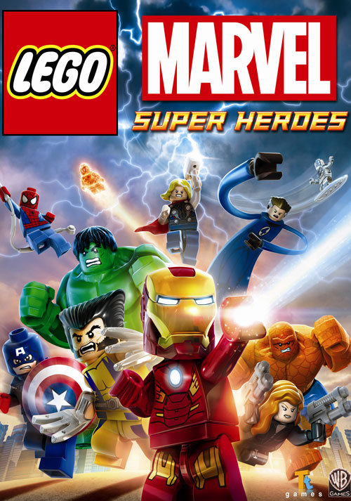 LEGO MARVEL: Super Heroes - Packshot