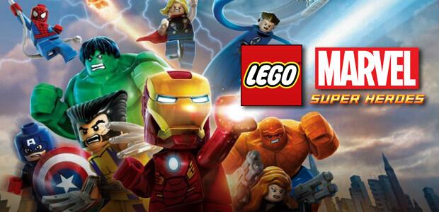 LEGO Marvel: Super Heroes - Cover / Packshot