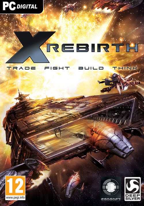 X-Rebirth - Cover / Packshot