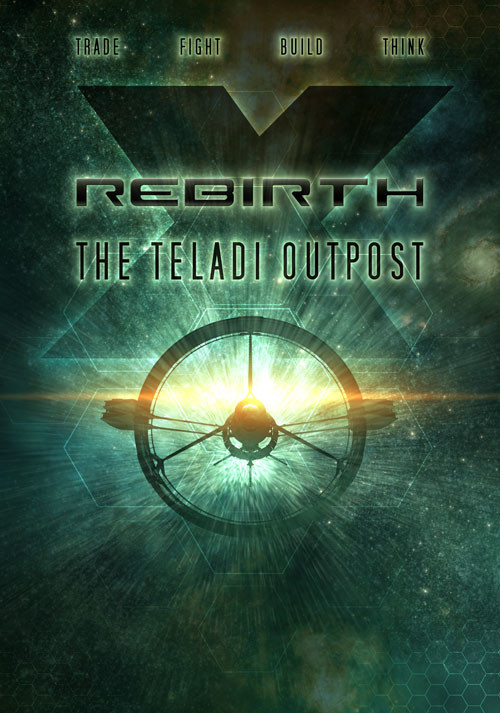 X Rebirth: The Teladi Outpost - Cover